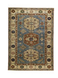 Oriental Rug over the top Stock Images