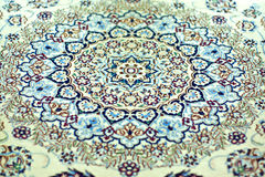 Oriental Rug - Symmetry Patterns Stock Photography