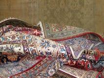 Oriental Rugs stock photo