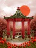 Oriental scenery 4 Stock Photography