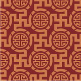 Oriental Seamless Background Royalty Free Stock Photography