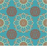 Oriental Seamless Background. Oriental Chinese Seamless Tile Background stock illustration