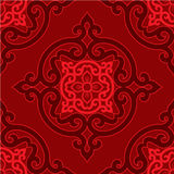 Oriental Seamless Background. Oriental Decorative Seamless Tile Background stock illustration