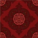 Oriental Seamless Background. Oriental Decorative Seamless Tile Background royalty free illustration