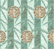 Oriental Seamless Background. Oriental Chinese Seamless Background - Grunge is Removable in Vector Format royalty free illustration