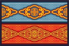 Oriental Seamless Border Ornament Stock Photos