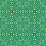 Oriental seamless bright pattern Stock Photos