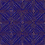 Oriental seamless festive pattern. Abstract brocade textured background Stock Image