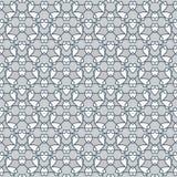 Oriental seamless geometric fabric pattern. Ethnicity ornament. Ornamental rounds background, texture, tiled. Circles mandala. Oriental seamless geometric fabric Stock Images