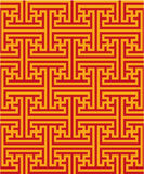 Oriental Seamless Pattern Royalty Free Stock Photography