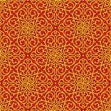 Oriental Seamless Pattern Stock Photography