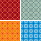 Oriental Seamless Pattern Stock Photos