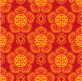 Oriental Seamless Pattern Royalty Free Illustration