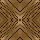 Oriental seamless pattern. Based on tiger stripes Royalty Free Stock Images