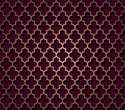 Oriental seamless pattern in brown color Royalty Free Stock Photography