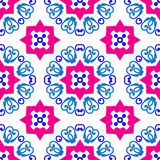 Oriental seamless pattern Stock Image