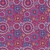 Oriental seamless pattern Stock Photos