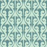 Oriental seamless pattern with 3D effect. Vector seamless wallpapers with tatar motifs Royalty Free Stock Images