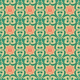 Oriental seamless pattern damask arabesque and floral elements b Royalty Free Stock Photography