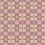 Oriental seamless pattern damask arabesque and floral elements t Stock Photo