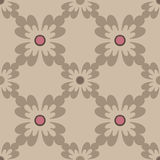 Oriental seamless pattern damask arabesque and floral elements t Royalty Free Stock Images