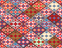 Oriental Seamless Pattern - Nomadic Rug Royalty Free Stock Image