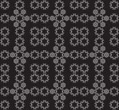 Oriental seamless pattern. White ornament on black background Vector illustration.For Holiday Art, Print, Fashion, Home decor, Craft, Textile, Web design vector illustration
