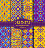 Oriental seamless patterns. Stock Photography
