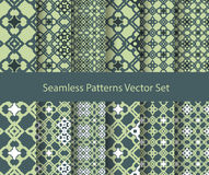 Oriental seamless patterns Stock Photography
