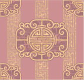 Oriental Seamless Tile Royalty Free Stock Photo