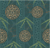 Oriental Seamless Tile Stock Photography