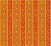 Oriental Seamless Tile Stock Photo