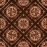 Oriental Seamless Tile. Red Oriental Chinese Seamless Tile - Including Vector Format royalty free illustration