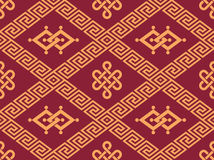 Oriental Seamless Tile Stock Photo