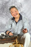 Oriental senior adult Stock Image