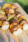 Oriental shashlik. Royalty Free Stock Photo
