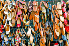 Oriental shoes Stock Photography