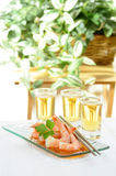 Oriental Shrimp Appetizer Royalty Free Stock Photos