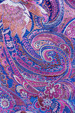 Oriental silk fabrics Stock Image