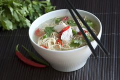 Oriental Soup Stock Photography