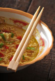 Oriental soup Stock Photo