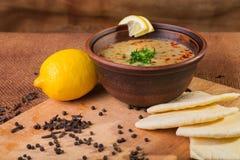 Oriental soup Royalty Free Stock Photo