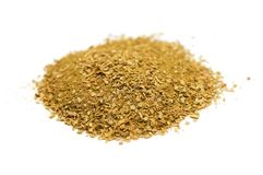 Oriental spice powder isolated Royalty Free Stock Photo