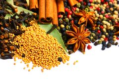 Oriental spices Stock Photo