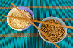 Oriental spices Stock Photography