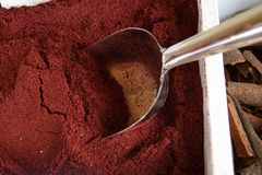 Oriental spices. Dried sumac Stock Image