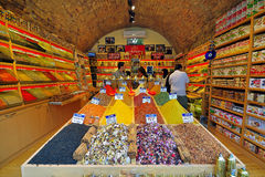 Oriental spices and tea, the Grand Bazaar Stock Photography