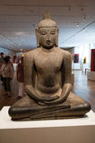 oriental statue Serenity and peace royalty free stock photography