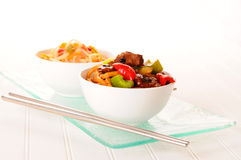 Oriental Stirfry Royalty Free Stock Photos