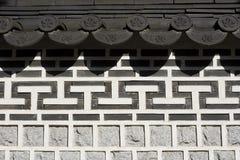 Oriental Stone Work Stock Photo